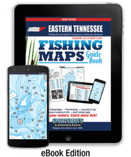Eastern Tennessee Fishing Map Guide - eBook (267 MB)