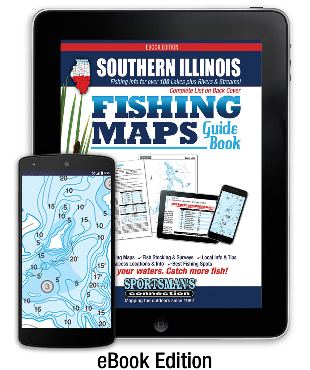 Southern Illinois Map Guide eBook   Sportsman's Connection on