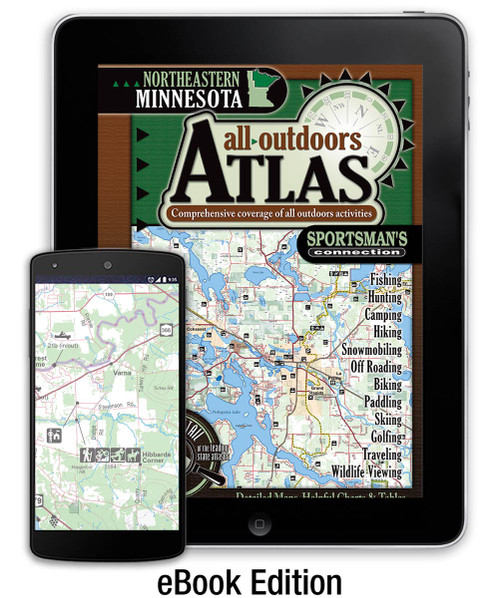 Northeastern Minnesota All-Outdoors Atlas eBook cover