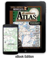 Central & Northwest Minnesota All-Outdoors Atlas eBook Edition