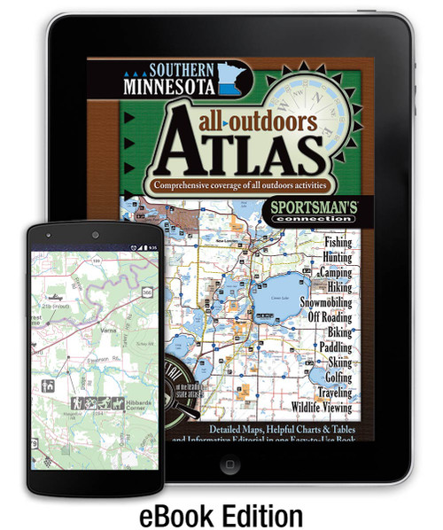Southern Minnesota All-Outdoors Atlas eBook cover