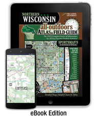 Northern Wisconsin All-Outdoors Atlas eBook Edition