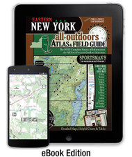 Eastern New York All-Outdoors Atlas cover