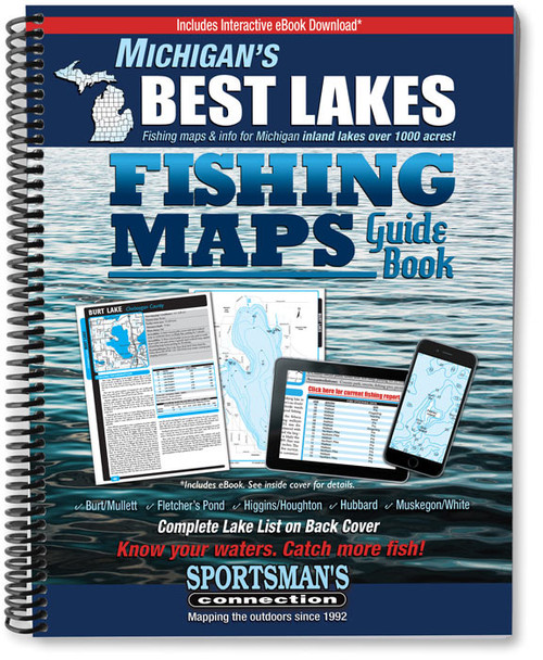Michigan S Best Lakes Fishing Map Guide Sportsman S Connection