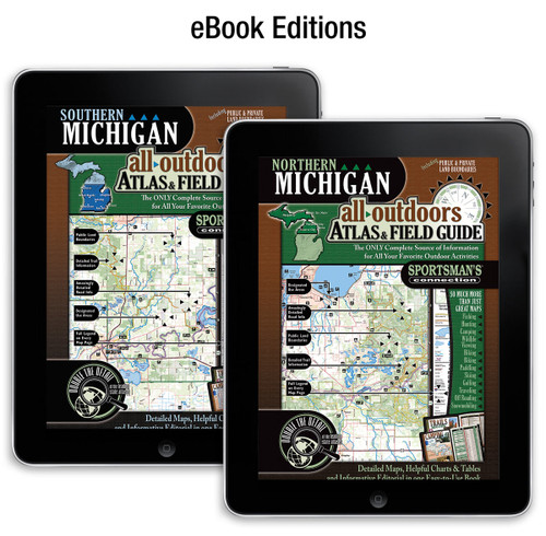 Michigan All-Outdoors Atlas & Field Guides - your complete guide to all of the outdoor opportunities the state has to offer