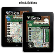 Wisconsin All-Outdoors Atlas & Field Guide - eBook Covers