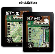 New York All-Outdoors Atlas & Field Guide eBook covers - your complete guide to all of the outdoor opportunities the state has to offer