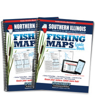 Illinois Fishing Map Guide covers