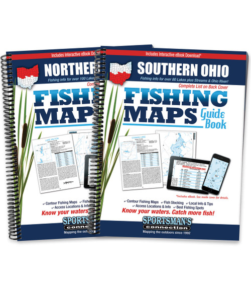 Ohio Fishing Map Guides