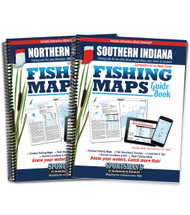 Indiana Fishing Map Guides - covers