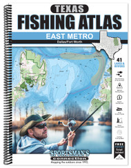 East Metro Texas Fishing Atlas - front cover
