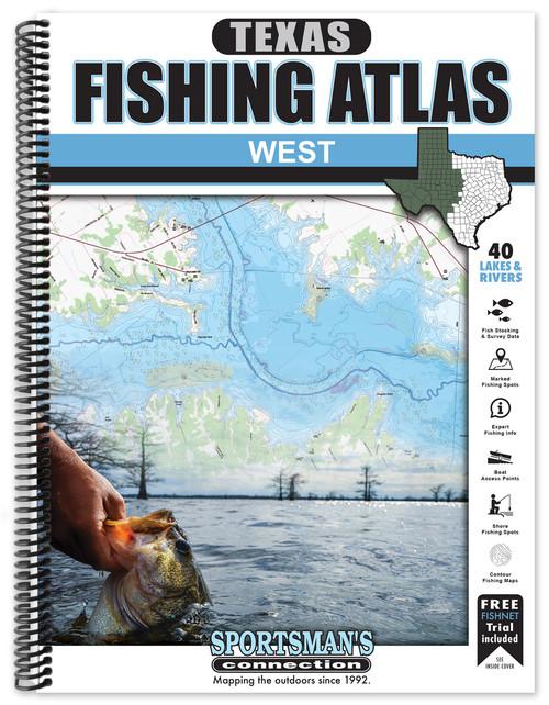 West Texas Fishing Atlas - regional coverage