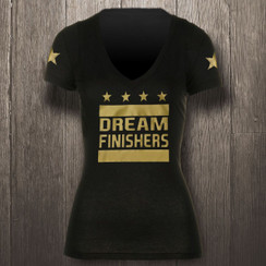 Black & Metallic Gold Dream Finishers - Women