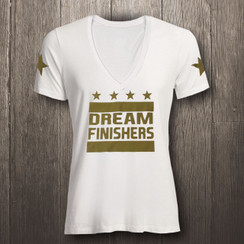 White & Metallic Gold Dream Finishers - Women