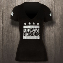 Black & Metallic Silver Dream Finishers - Women