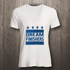 White & Columbia Blue Dream Finishers - Women
