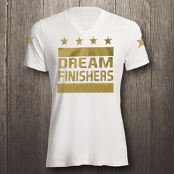 White & Metallic Gold Dream Finishers - Men