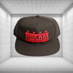 Dream Finisher Snapback Black and Red
