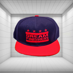 Dream Finisher Snapback Navy Blue and Red