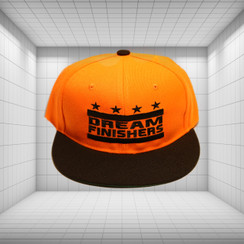 Dream Finisher Snapback Orange and Black