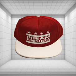 Dream Finisher Snapback Burgundy and White