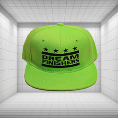 Dream Finisher Snapback Lime Green and Navy Blue