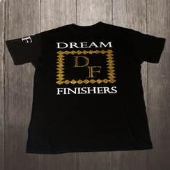 Dream Finishers Black and Gold Diamond DF