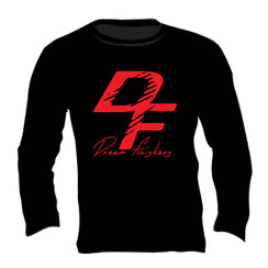 Dream Finishers Black and Red Long Sleeve