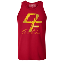 Dream Finishers Tank Top Elite Red and Gold