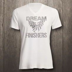 Silver & White Dream Finishers in Silver Glitter- Men