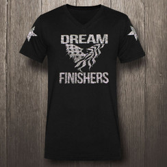 Black & Silver Glitter Dream Finishers - Men