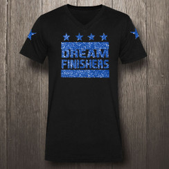 Black & Blue Glitter Dream Finishers- Men