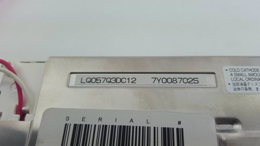 Label of LQ057Q3DC12