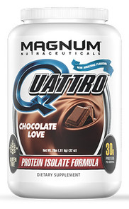 Quattro Multi Isolate Protein 2lb Chocolate Love