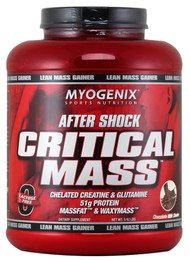 Myogenix After Shock Critical Mass, Chocolate Milk Shake - 5.62lbs