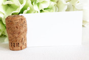 Champagne Cork Place Card Holders - CorkeyCreations.com