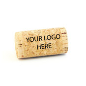 Personlized Whole Wine Corks - Your Logo - CorkeyCreations.com