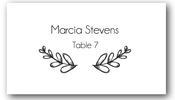 Place Cards - Olive Branch - CorkeCreations.com