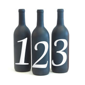 Vinyl Table Numbers - CorkeyCreations.com