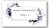 Place Cards - Dark Purple - CorkeyCreations.com