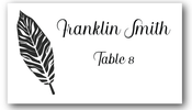 Place Cards - Palm Leaf- CorkeyCreations.com