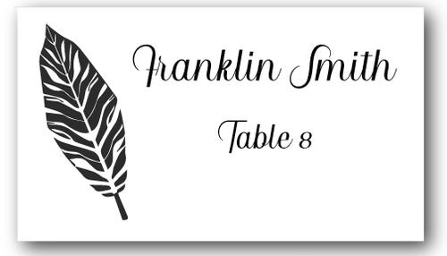 Place Cards - Palm Leaf- CorkeyCreations.com