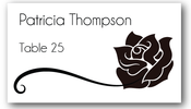 Place Cards - Rose - CorkeyCreations.com