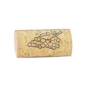 Wine Cork Place Card Holder - Grapes