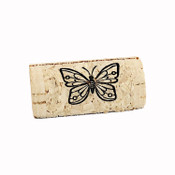 Wine Cork Place Card Holders - Butterfly - CorkeyCreations.com