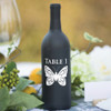 Butterfly Wine Bottle Table Number Vinyl Decals - CorkeyCreations.com