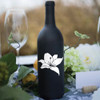 Flower Wine Bottle Vinyl Decal - CorkeyCreations.com