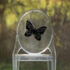 Butterfly Vinyl Chair Back Decor - CorkeyCreations.com