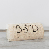 Personalized Wine Cork Place Card Holders - CorkeyCreations.com