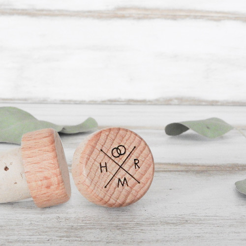 Wine Bottle Stopper - CorkeyCreations.com